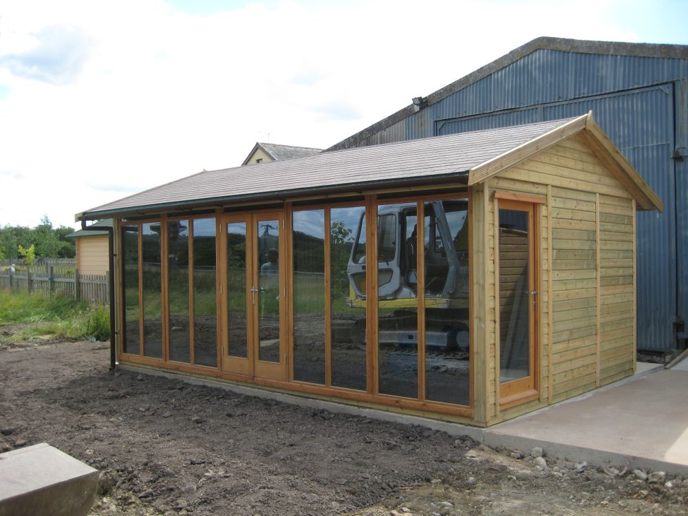 Garden Sheds 20 X 12 warwick offices - warwick garden offices - uk garden shed offices